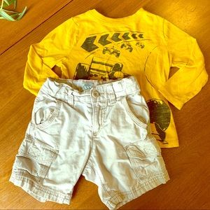 Old Navy t-shirt and shorts set 2T